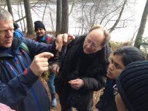 Ekologen Ander Bengtsson berättar om naturen.