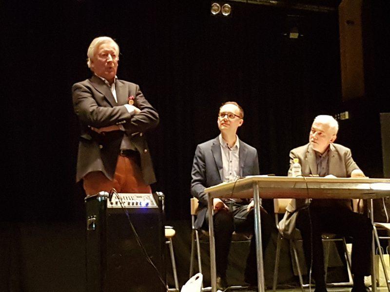 Anders Thorén, Carl Widercrantz och Rolf Kenmo.